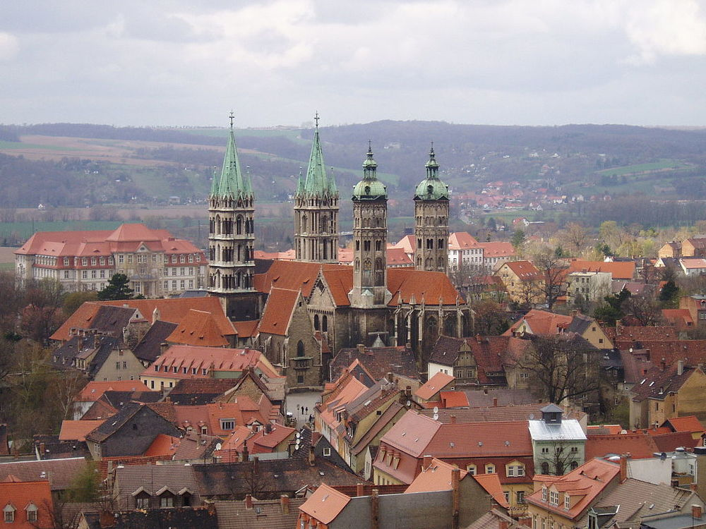 Naumburg. Click to enlarge. Image:  Muns / Wikimedia