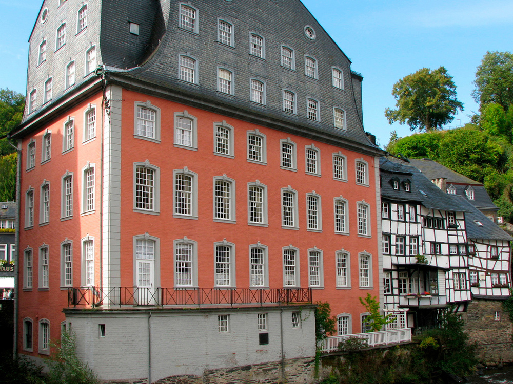 The Red House, Monschau, Germany