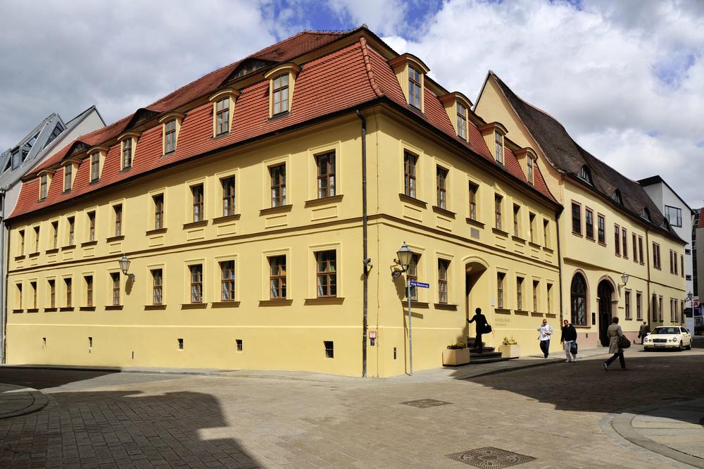 Händel-Haus in Halle Germany.