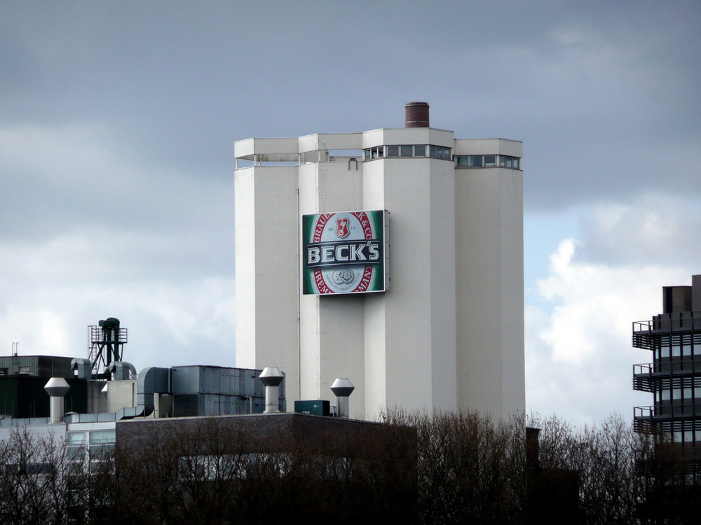 Beck's Brewery in Bremen.