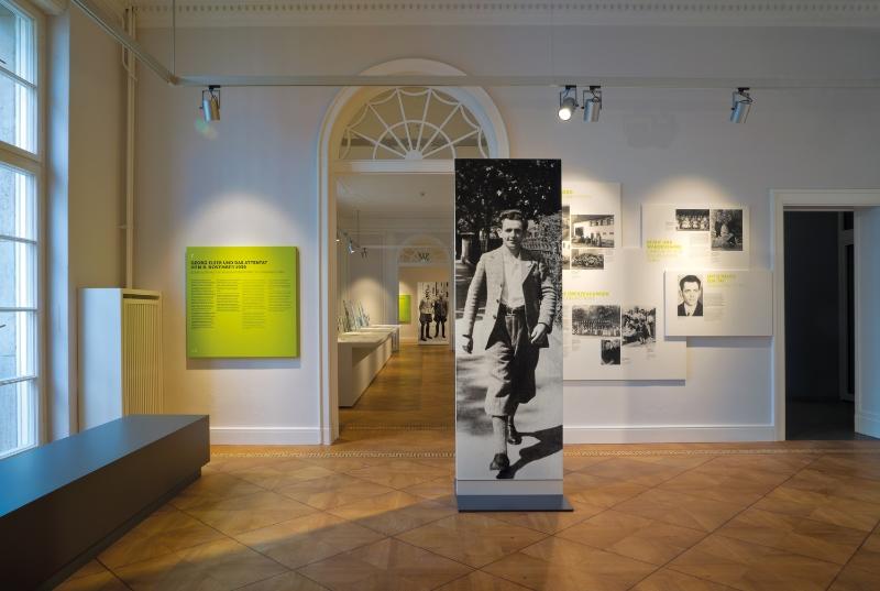 Georg Elser exhibit
