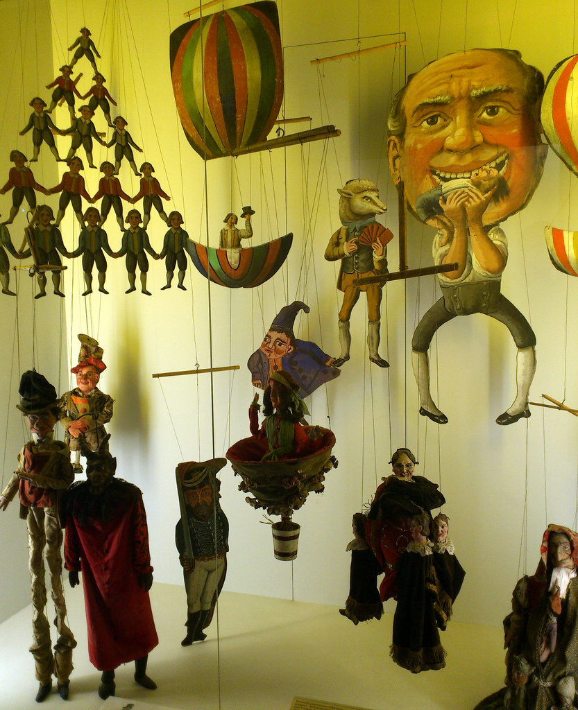 Munich Stadtmuseum: Puppets and carnival attractions