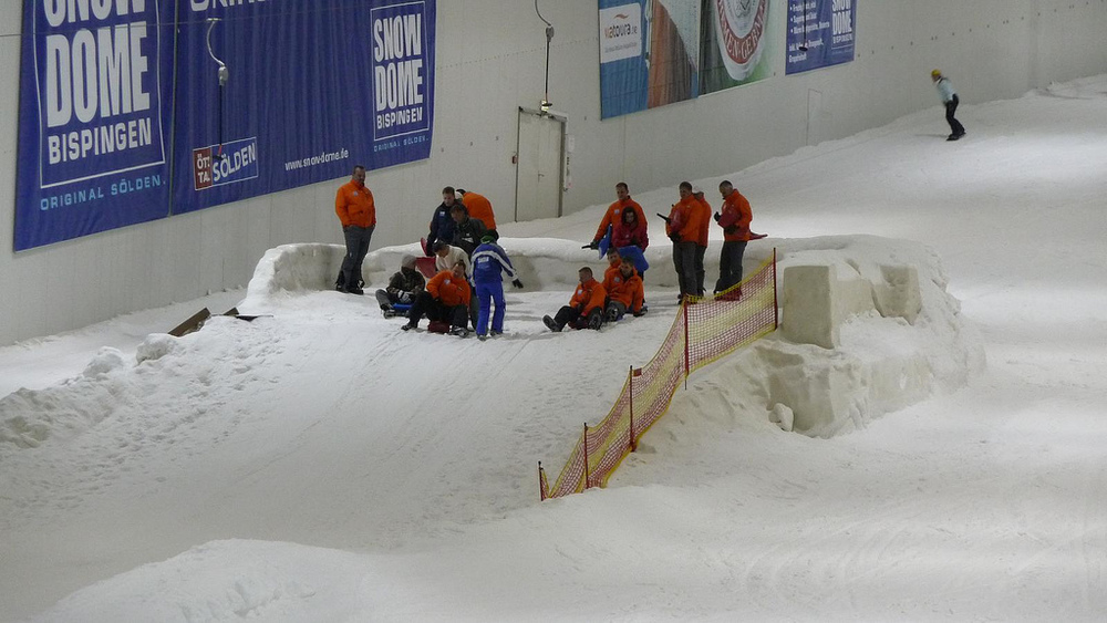 Tired of skiing? Try out sledding.