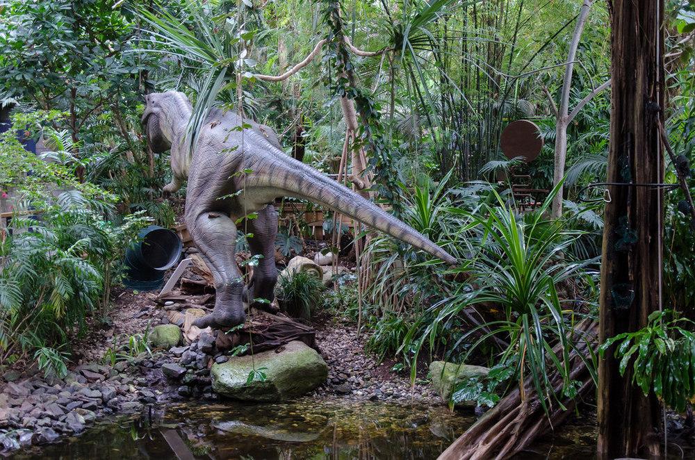 Biodome's 'Dinosaur Road'