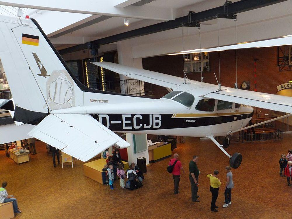 Rust's plane, now in theGerman Museum of Technology, Berlin. picturecnb.blogspot.de / Wikimedia