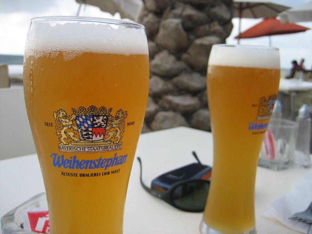 Enjoy the beer brewed at Weihenstephan Abbey, the oldest brewery in the world!