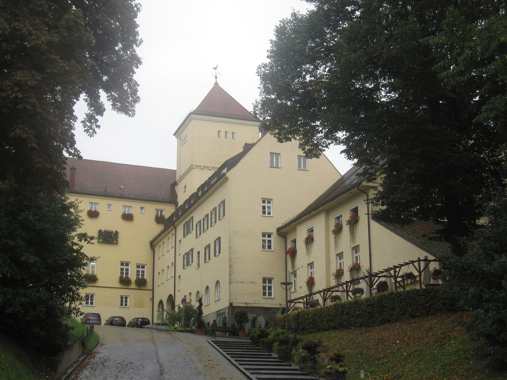 Weihenstephan Abbey is modernized now but holds over 1000 years of history.