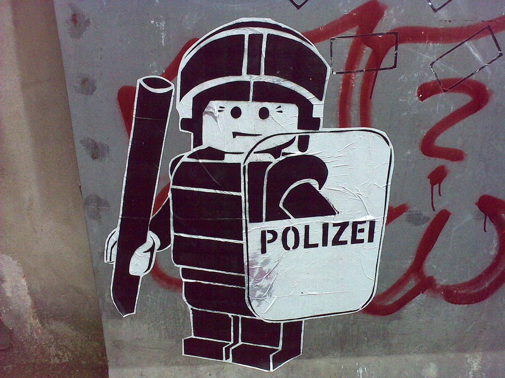 Government says institutional racism not a problem with the German police force.