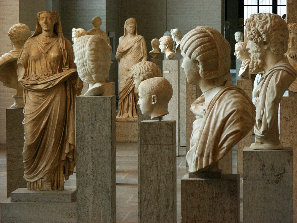 Hundreds of statues found in Munich's Glyptothek.