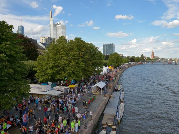 Frankfurt Museum Embankment Festival.