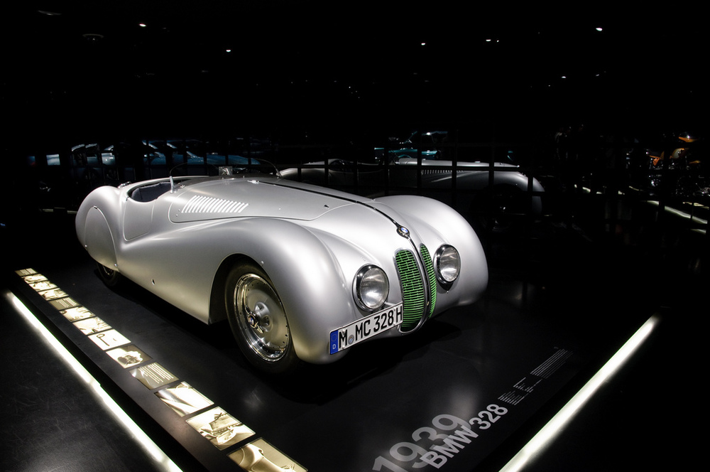 See the beautiful classics in the BMW Museum.