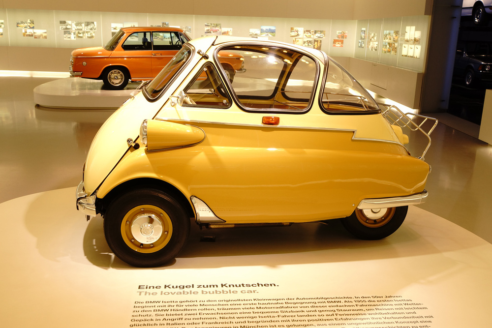 The BMW Museum also offers some automotive designs that you may have never imagined.