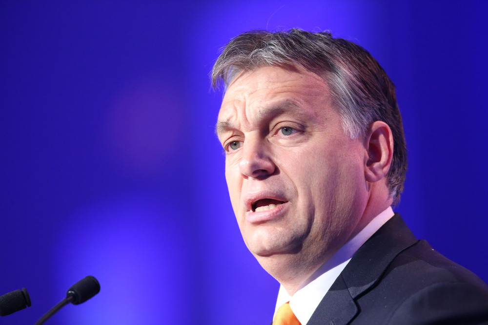 Viktor Orban tells media that refugees are a German problem, not a EU problem.
