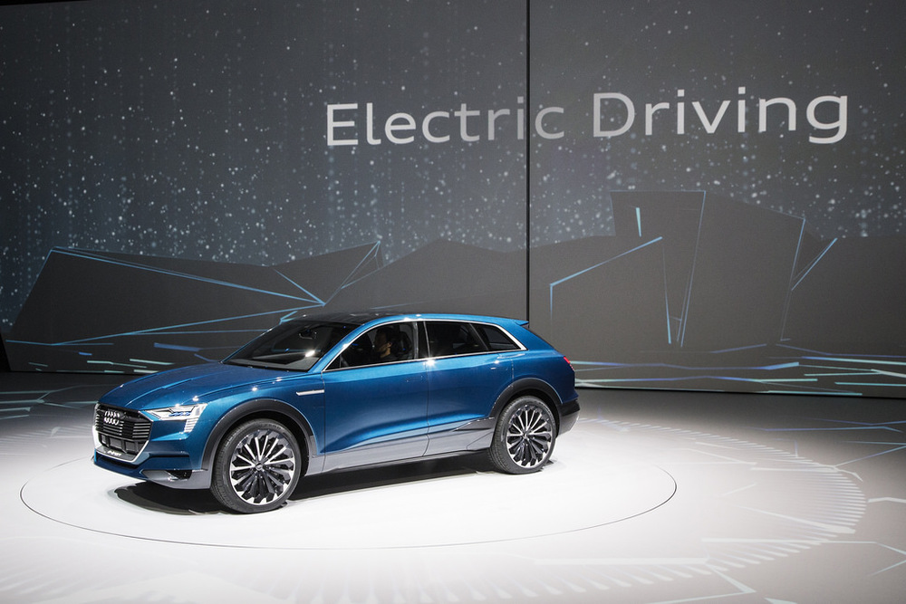 Electric cars were the main attraction at the IAA motor show in Frankfurt.