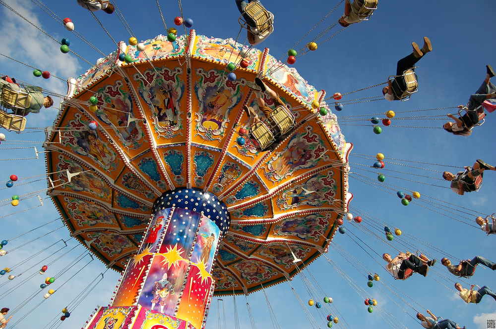 Fun and rides and all sorts of activities at the 182nd Oktoberfest