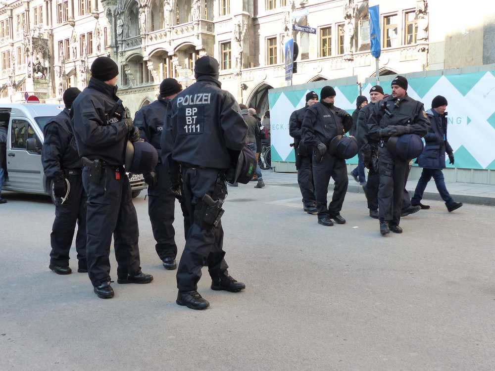 Police raids in Berlin of ISIS recruitment sites.