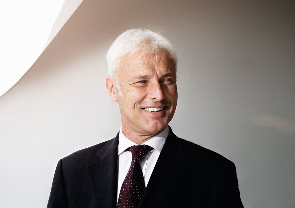 Matthias Müller becomes the new CEO of Volkswagen.