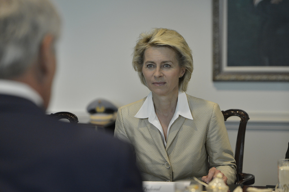 Ursula von der Leyen, second Defence Minister accused of plagiarism.
