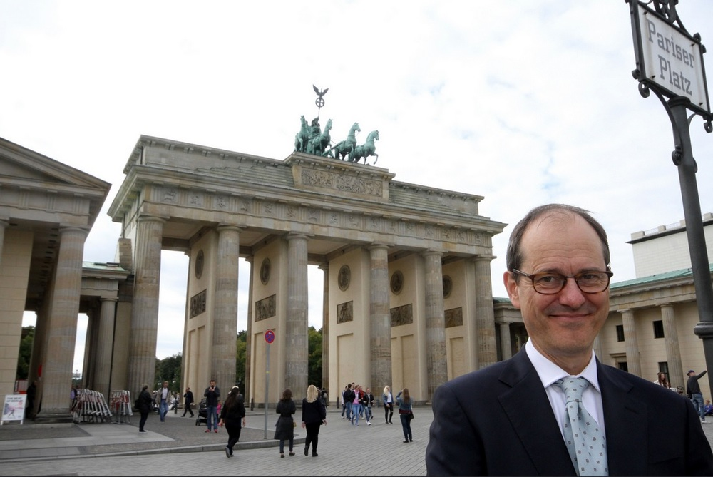 Sir Sebastian Wood is the new British Ambassador in Berlin.