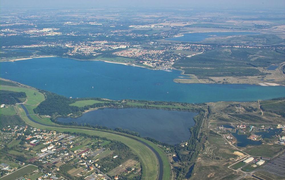 Cospudener See in Leipzig.