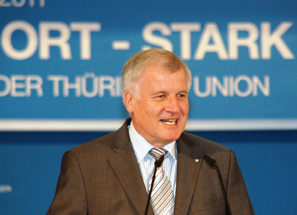 Horst Seehofer's CSU butts heads with Angela Merkel's CDU over refugee crisis.