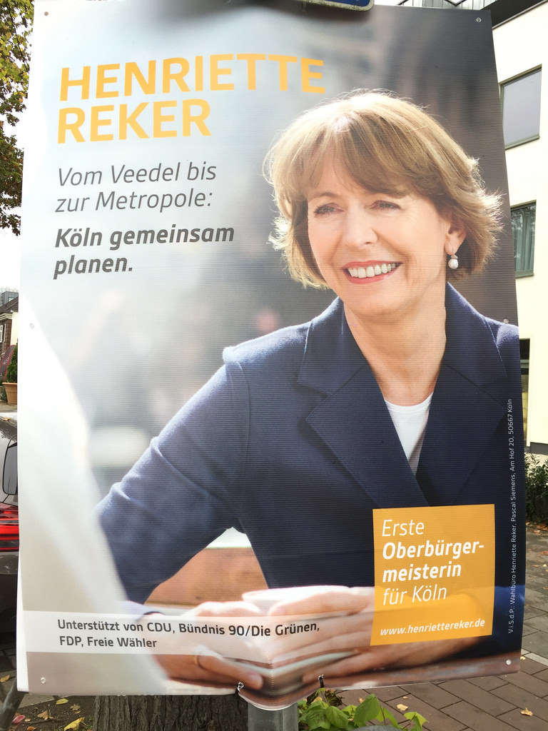 Why was Cologne mayoral candidate Henriette Reker attacked?