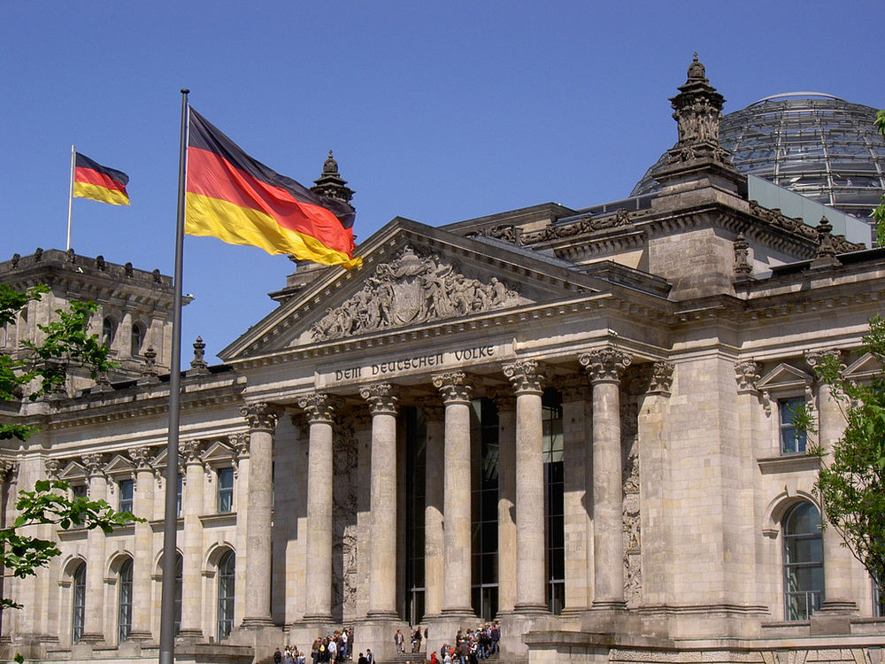 German Parliament vote on new data retention laws.