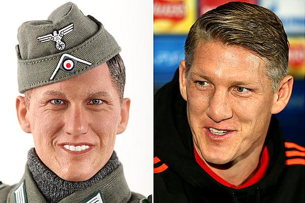 Bastian Schweinsteiger to take legal action against Chinese toy company.