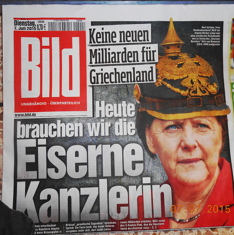 Bild newspaper hires first female editor-in-chief, Tanit Koch.