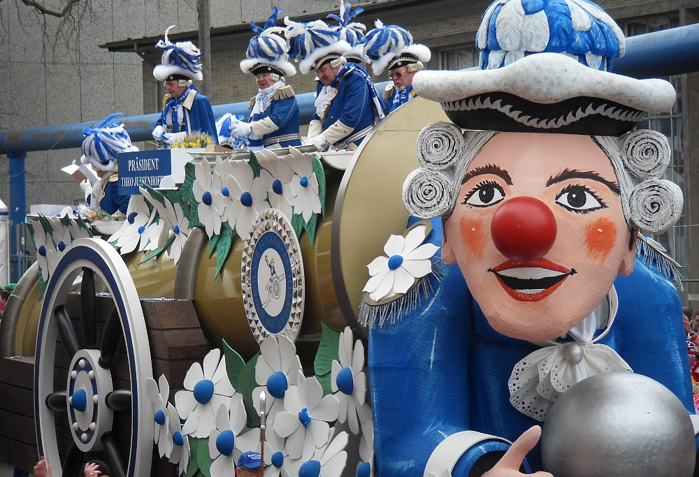 Karneval has begun in Germany!