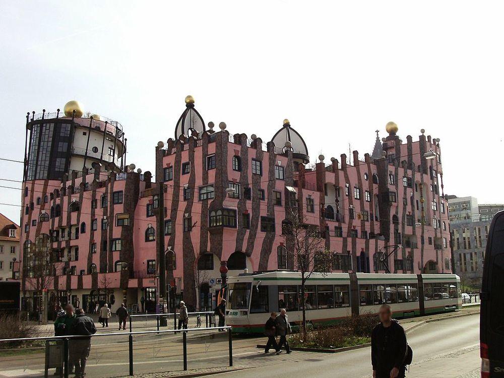 Hundertwasser Grüne Zitadelle in Magdeburg