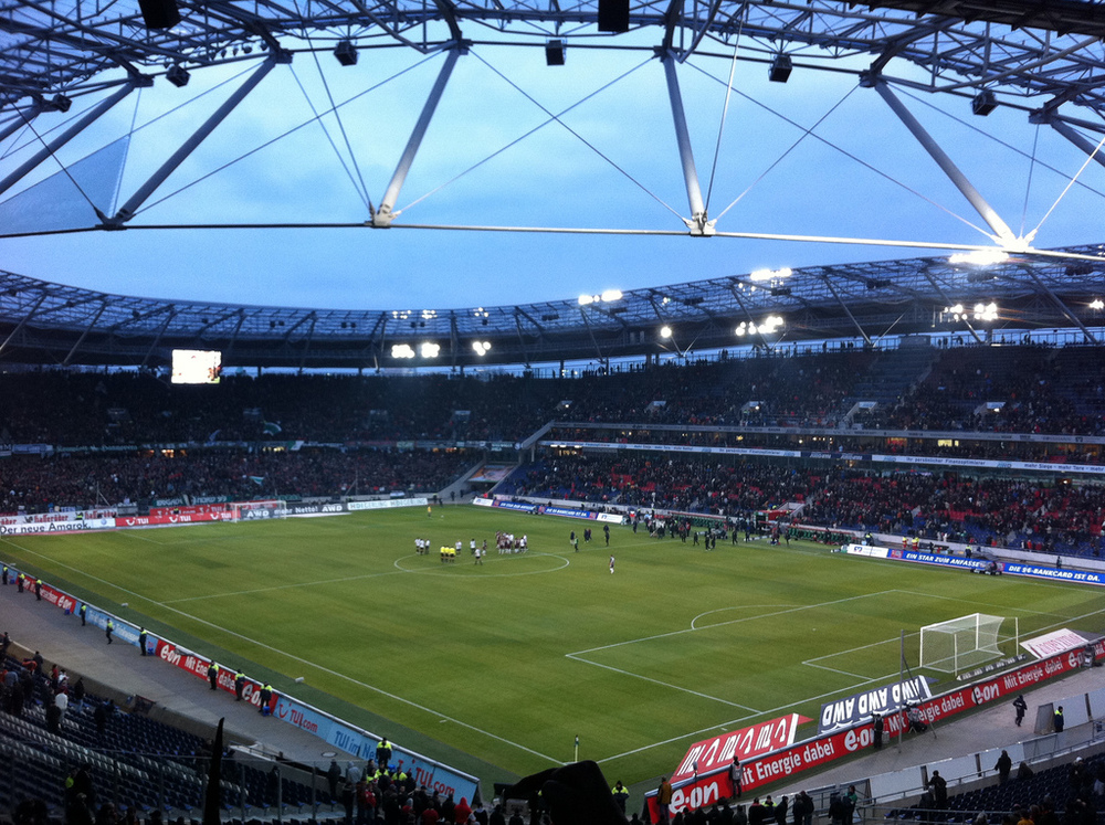 Hannover stadium evacuated over possible terrorist attack.