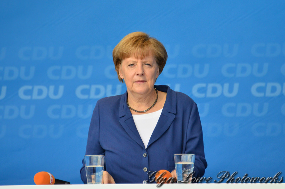 Merkel in office for 10 years.