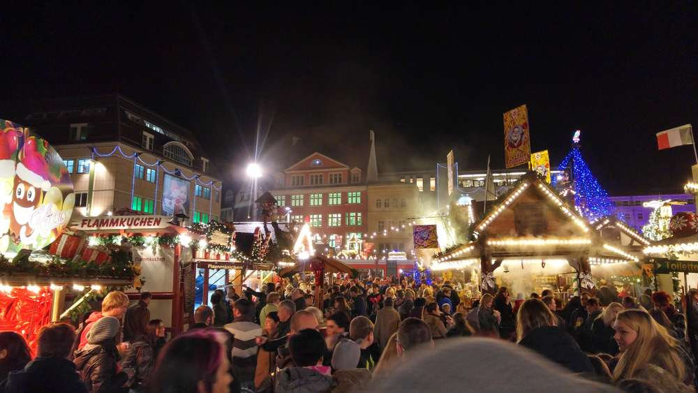 Fun in excitement at German Christmas Markets.
