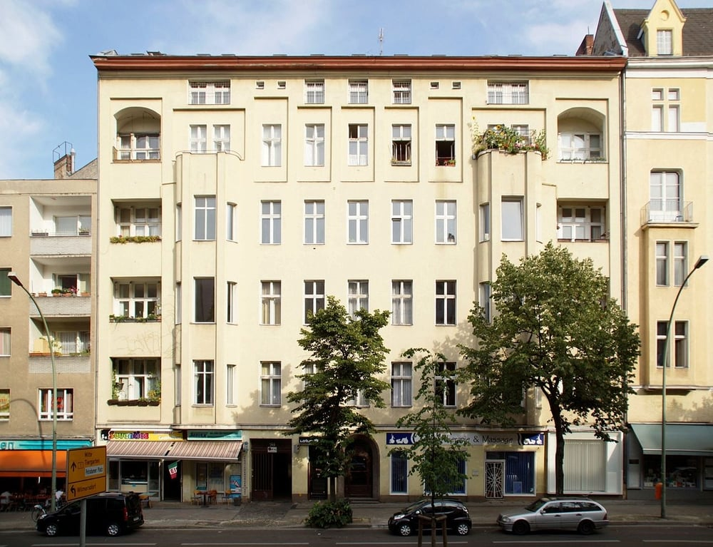 Bowie's apartment in Berlin