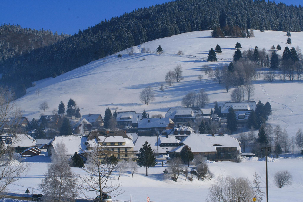 Stay in quite villages in the Hochschwarzwald.