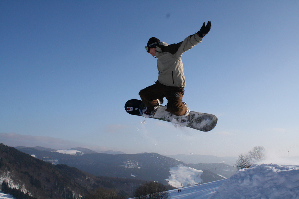 High action winter sports in the Black Forest Highlands!