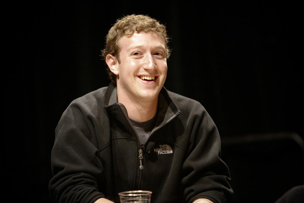 Facebook CEO speaks in Berlin about reducing hate speech on social media.
