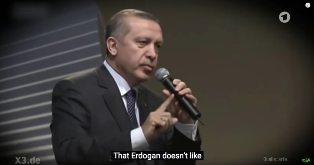 Extra3's Erdogan satirical video causes a storm