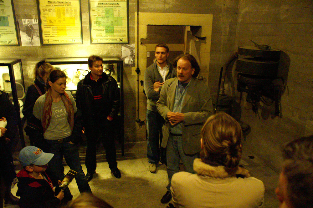 Guided tours take visitors through old tunnels, rooms, and even buildings located under Berlin.