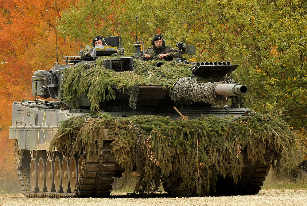 Leopard 2A6 tanks helped Germany win the Strong Europe Tank Challenge 2016! (Image: US Army/public domain)