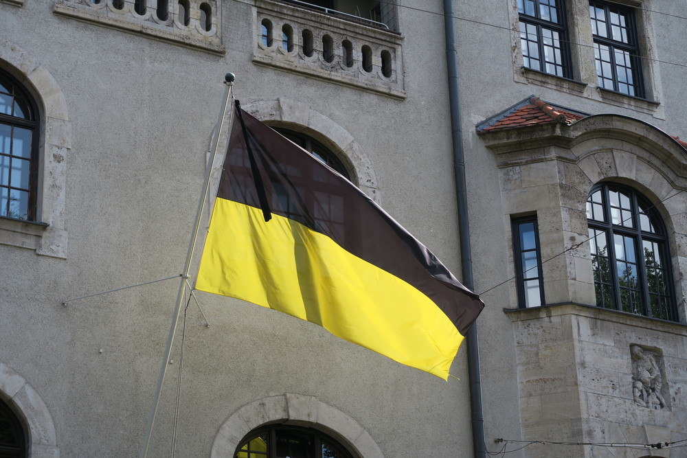 Munich flag flown in mourning