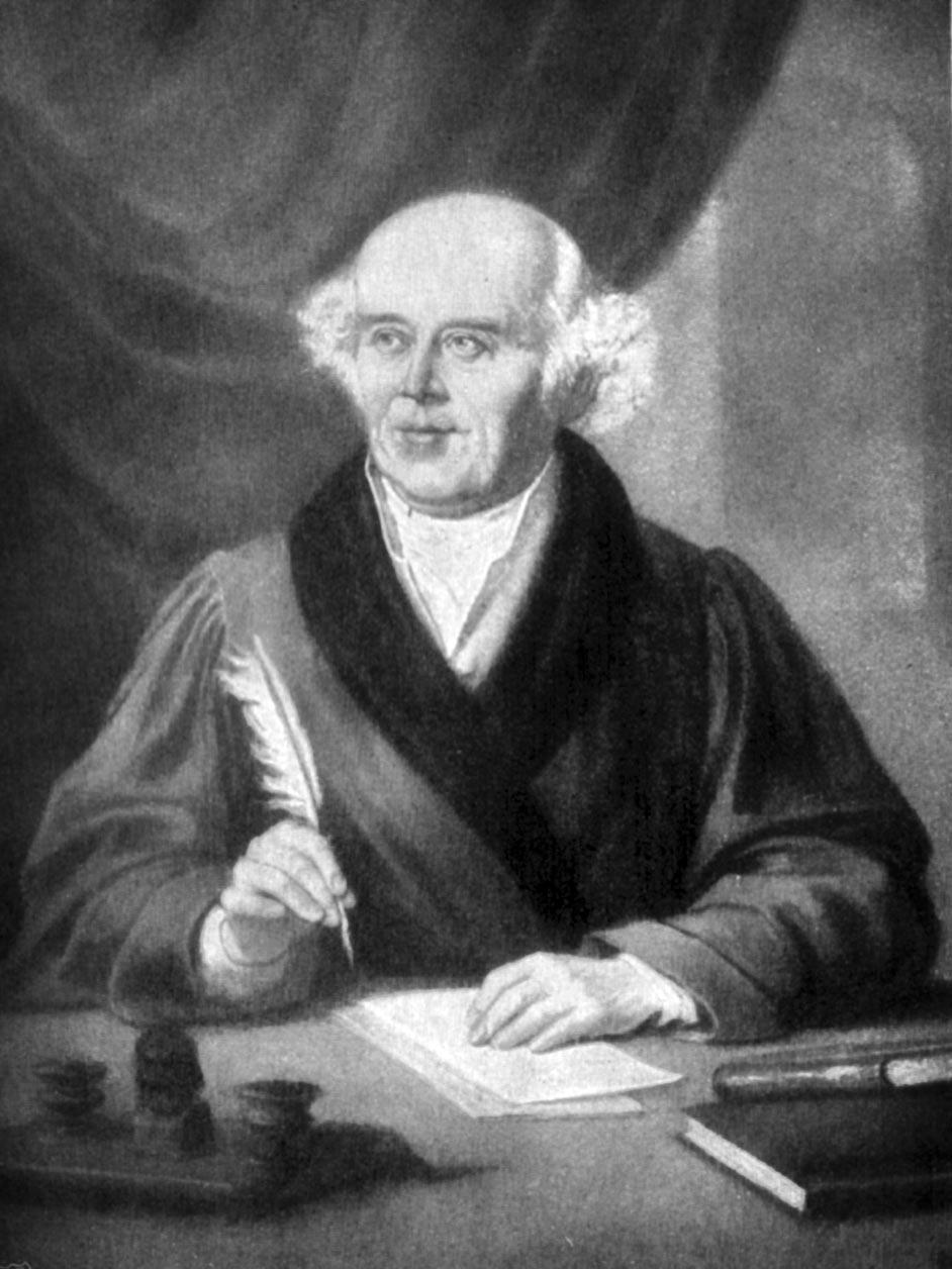 Samuel Hahnemann - founder of homeopathy
