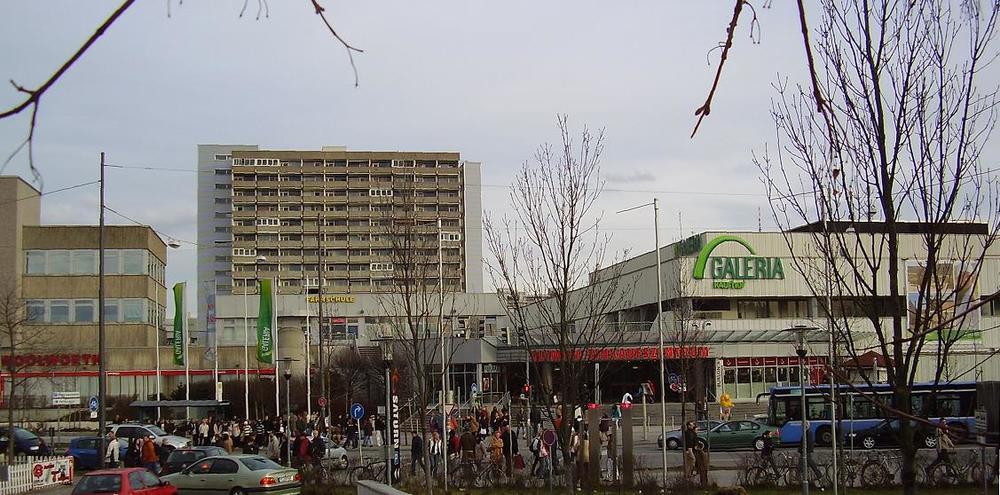 Olympia-Einkaufszentrum (shopping mall) in Munich