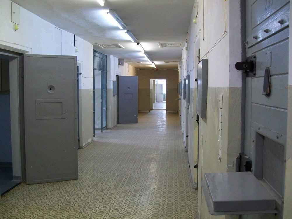 Hohenschönhausen prison cells