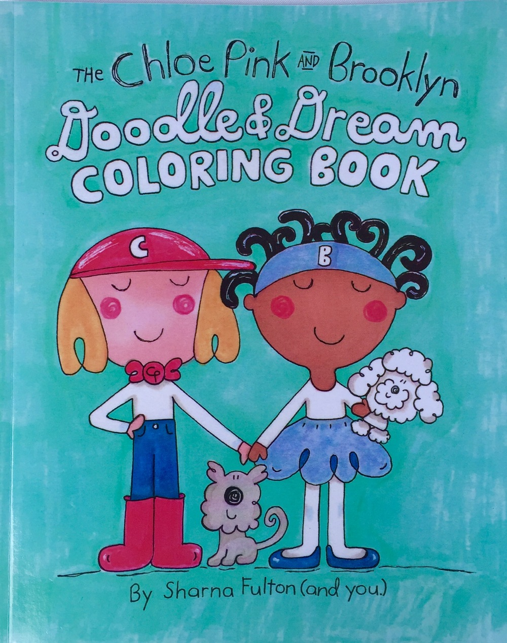 The Chloe Pink and Brooklyn Doodle & Dream Coloring Book
