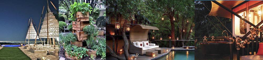 Events / Organic Gardens / Tropical Design / Retreat Rooms