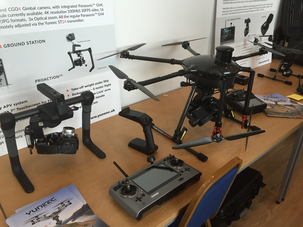Yuneec RTF RPAS (Tornado and Typhoon platforms).