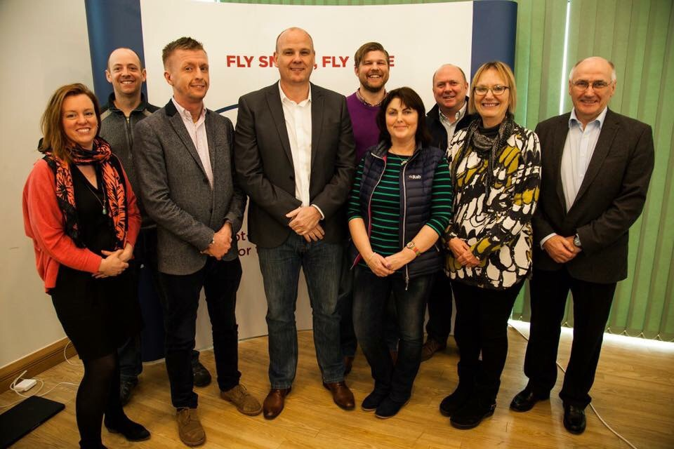 The new ARPAS-UK Committee (Image: Jonathan Potts).