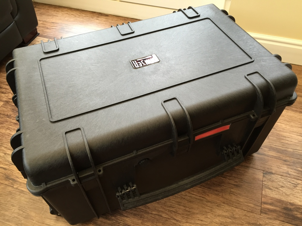 Panzer Cases 'Aurora' Range for DJI Inspire 1 Drone.